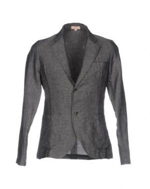 Пиджак D.R SHIRT. Цвет: стальной серый