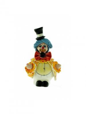 Статуэтка Клоун Zampiva. Цвет: желтый, голубой, красный