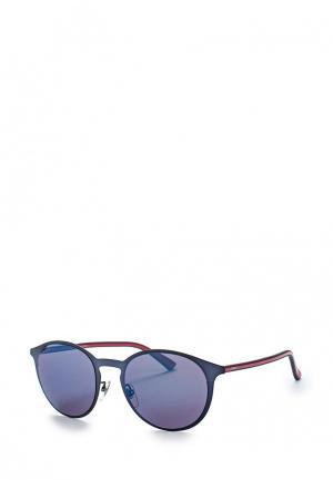 Очки солнцезащитные Gucci. Цвет: синий