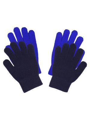 Перчатки Luhta. Цвет: синий
