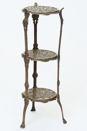 Столик Stilars. Цвет: бронзовый