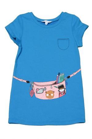 Платье Little Marc Jacobs. Цвет: голубой