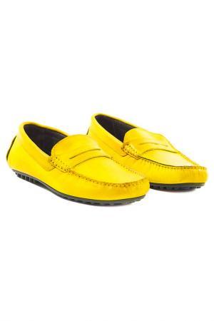 Ботинки Trussardi. Цвет: желтый