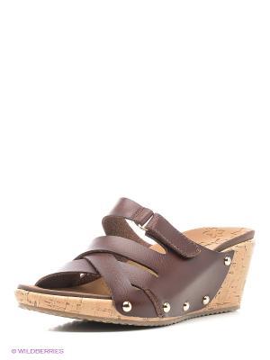 Пантолеты SKECHERS. Цвет: коричневый