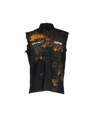 Pубашка ROCK 'N' ROLL. Цвет: черный