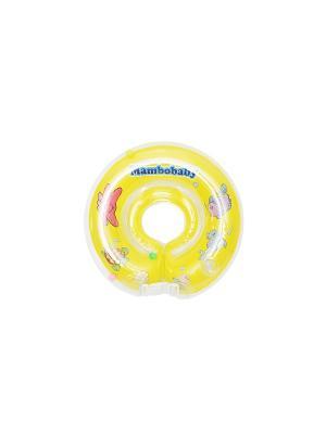 Круг на шею Mambobaby. Цвет: желтый