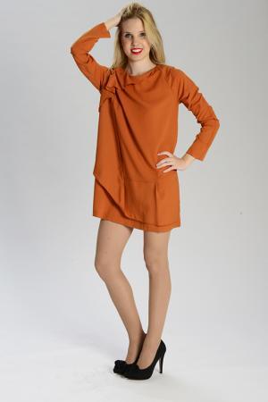 Платье PAMELA MILANO. Цвет: оранжевый