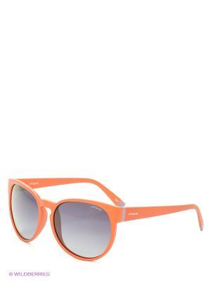 Солнцезащитные очки Polaroid. Цвет: терракотовый, синий