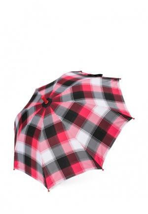 Зонт-трость PlayToday. Цвет: красный