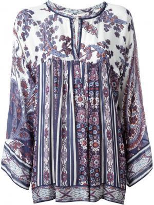 Блузка Tucson Isabel Marant Étoile. Цвет: синий
