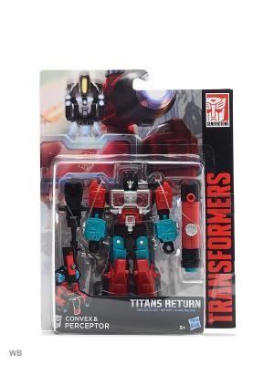 Трансформеры дженерэйшнс: войны титанов дэлюкс Transformers. Цвет: красный, лазурный