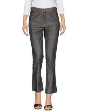 Джинсовые брюки ANNIE P.. Цвет: черный