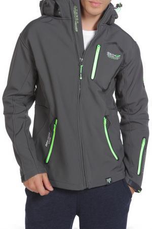 Куртка Geographical norway. Цвет: dark grey