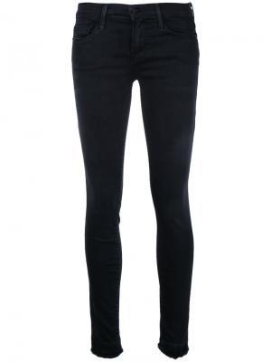 Skinny jeans Frame Denim. Цвет: чёрный