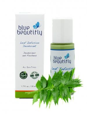 Органический дезодорант Blue Beautifly. Цвет: серо-зеленый
