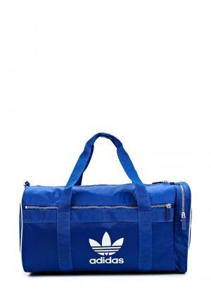 Сумка спортивная adidas Originals. Цвет: синий
