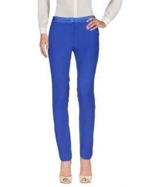 Повседневные брюки CAMILLA Milano. Цвет: синий