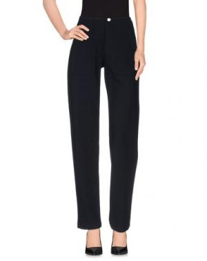 Повседневные брюки HARVEY FAIRCLOTH. Цвет: темно-синий