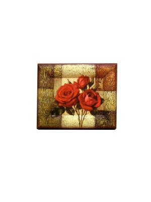 Ключница  15/20 Декарт. Цвет: светло-коричневый, золотистый, красный