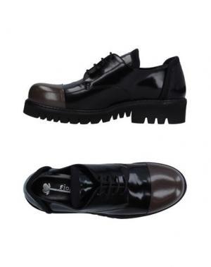 Обувь на шнурках FIORIFRANCESI. Цвет: черный