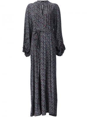 Платье с поясом Talitha. Цвет: чёрный