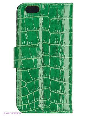 Чехол-книжка для iPhone 6 Dimanche. Цвет: зеленый