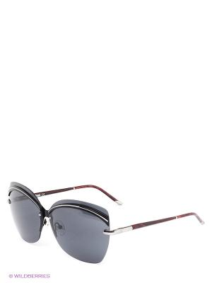 Солнцезащитные очки BLD 1420 104 Baldinini. Цвет: черный