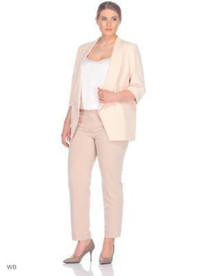 Пиджак GALANT. Цвет: бледно-розовый, кремовый