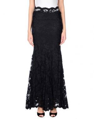 Длинная юбка BALENSI. Цвет: черный