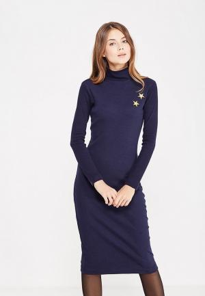 Платье Self Made. Цвет: синий