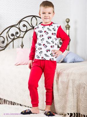 Пижама Хох. Цвет: красный, белый