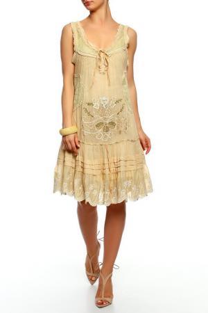 Платье GADO. Цвет: мультицвет