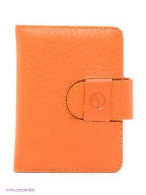 Чехол для кредитных карт Avanzo Daziaro. Цвет: оранжевый