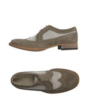Обувь на шнурках 01000010 by BOCCACCINI. Цвет: бежевый