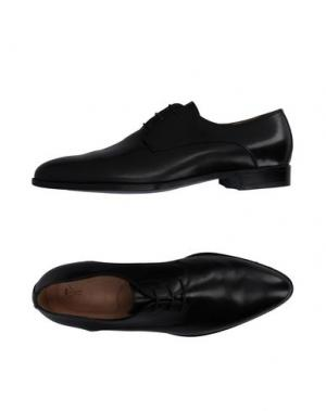 Обувь на шнурках SUTOR MANTELLASSI. Цвет: черный