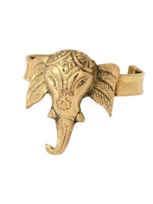 Браслет Индийский слон Indira. Цвет: золотистый