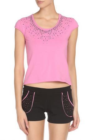 Комплект BON-AR. Цвет: розовый, черный