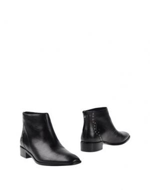 Полусапоги и высокие ботинки POUR LA VICTOIRE. Цвет: черный