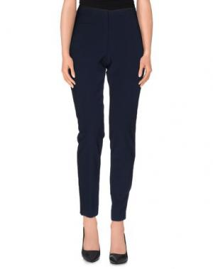 Повседневные брюки HACK. Цвет: темно-синий