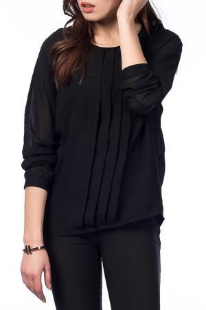 Блузка NARAMAXX. Цвет: черный