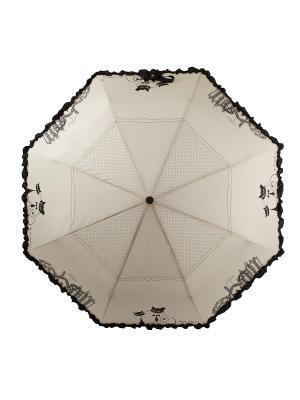 Зонт Flioraj. Цвет: бежевый