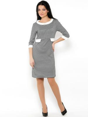 Платье Spicery. Цвет: черный, молочный