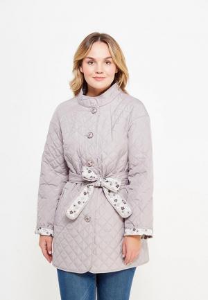 Куртка утепленная Оджи. Цвет: серый
