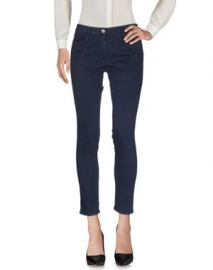 Повседневные брюки HENRY COTTON'S. Цвет: темно-синий