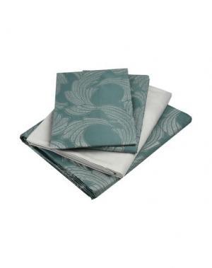 Гарнитура постельного белья FRETTE. Цвет: темно-зеленый