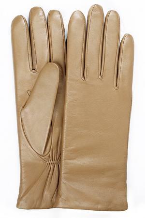 Перчатки Baggini. Цвет: песочный