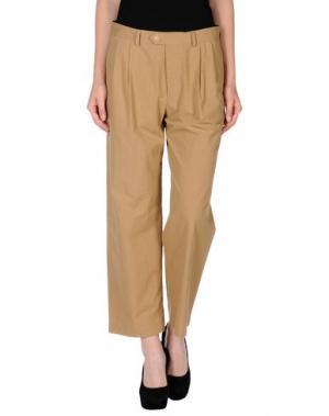 Повседневные брюки M.GRIFONI DENIM. Цвет: песочный