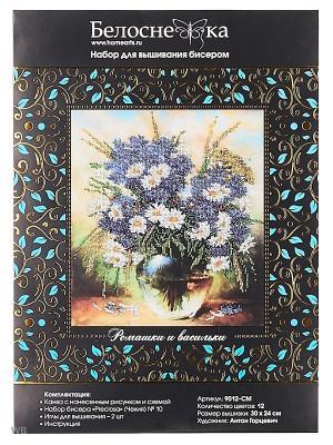 Ромашки и васильки 9012-CM Белоснежка. Цвет: белый