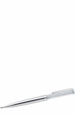 Шариковая ручка Crystalline Swarovski. Цвет: серебряный