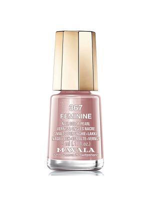 Лак для ногтей тон 367 Feminine Mavala. Цвет: розовый